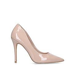 Carvela - Nude 'Krisp' stiletto court shoes
