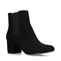 Nine West - Black 'Quamra' block heel chelsea boots
