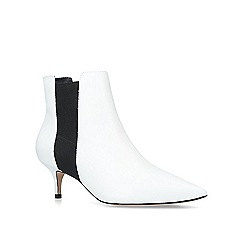 ALDO - White 'Jerirewia' pointed toe ankle boots