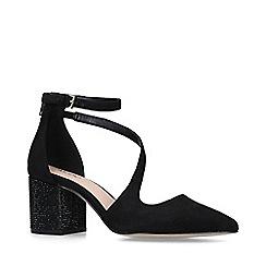 ALDO - Black 'Aristine' low heel court shoes