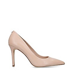 ALDO - Nude 'Fiania' Leather High Heel Courts