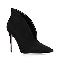 ALDO - Black 'Melidith' suede stiletto heel boots
