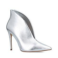 ALDO - Metallic 'Melidith' silver stiletto heel boots