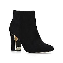 Carvela - Black 'Scape' suedette ankle boots
