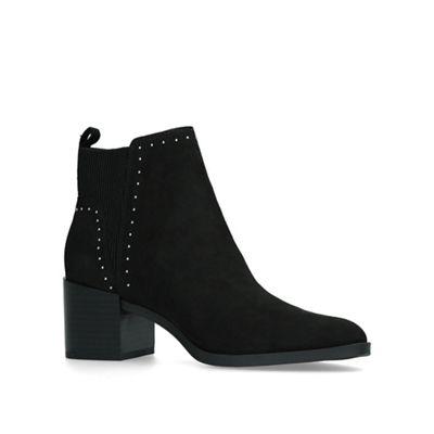 Nine West   Black 'wutchu' Mid Heel Ankle Boots by Nine West