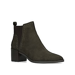 Nine West - Brown 'Wutchu' mid heel ankle boots