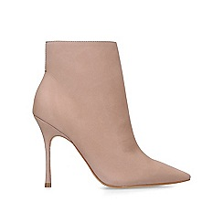 Carvela - Nude 'Grow' high heel ankle boots