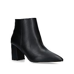 Carvela - Black 'Sleek' block heeled ankle boots