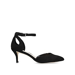 Nine West - Black 'Madinlove' mid heel court shoes
