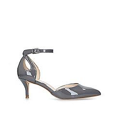 Nine West - Grey 'Madinlove' mid heel court shoes
