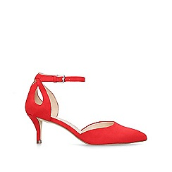 Nine West - Red 'Madinlove' mid heel court shoes