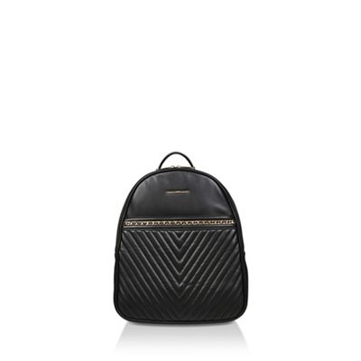Aldo   Black 'aielli' Quilted Backpack by Aldo