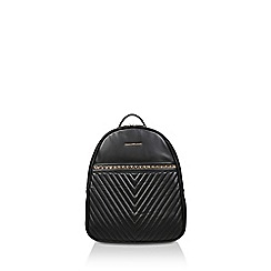 ALDO - Black 'Aielli' quilted backpack
