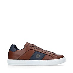 KG Kurt Geiger - Brown 'Sudbury' low top trainers