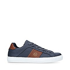 KG Kurt Geiger - Navy 'Sudbury' low top trainers