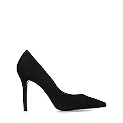 Carvela - Black 'Kareless' suedette court shoes