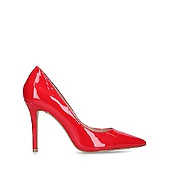 Carvela - Red 'Kareless' patent court shoes
