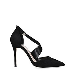 Carvela - Black 'Killer' suedette stiletto heel court shoes