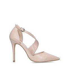 Carvela - Nude 'Killer' stiletto heel courts