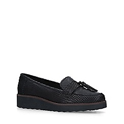 Carvela - Black 'Maestro' leather tassel loafers