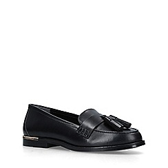 Carvela - Black 'Mercury' leather tassel loafers