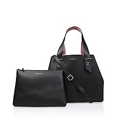 Carvela - Black  Chloe Slouch Tote  tote bag with detachable pouch 7cd0971ceb