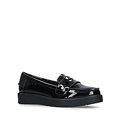 Miss KG - Black 'Nieve' Patent Loafers