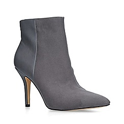 Nine West - Grey 'Flagship ankle boot' stiletto heel ankle boots