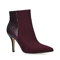 Nine West - Red 'Flagship ankle boot' stiletto heel ankle boots