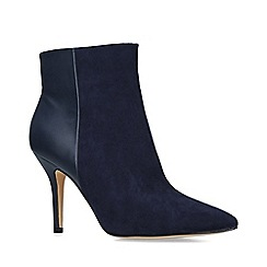 Nine West - Navy 'Flagship ankle boot' stiletto heel ankle boots