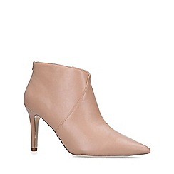 Miss KG - Nude 'Jiles' mid heel ankle boots