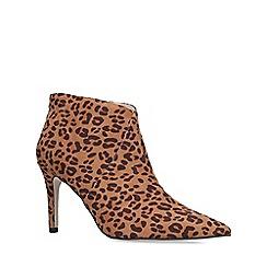 Miss KG - Leopard 'Jiles' print mid heel ankle boots