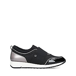 Miss KG - Black 'Karla' low top trainers