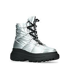 ALDO - Metallic 'Cadiracia' silver hiker boots