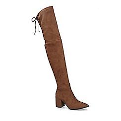 ALDO - Brown 'Froredia' High Leg Boots