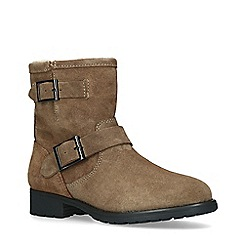 ALDO - Light Brown 'Gochal' Leather Biker Boots