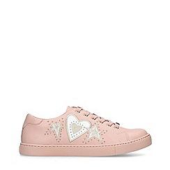 ALDO - Pink 'Swink' Embellished Low Top Trainers