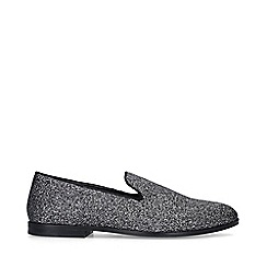 KG Kurt Geiger - Silver 'Northwood' Slip On Loafers