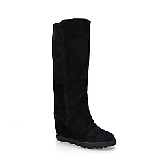 ALDO - Black 'Abecia' mid heel knee high boots
