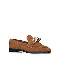 ALDO - Brown 'Ibaydda' embellished loafers