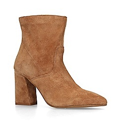ALDO - Brown 'Lollyra' mid heel ankle boots