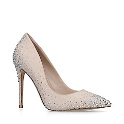 ALDO - Nude 'Pelia' high heel court shoes