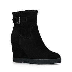 ALDO - Black 'Praolith' mid heel ankle boots