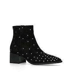 ALDO - Black 'Umardolind' studded mid heel ankle boots