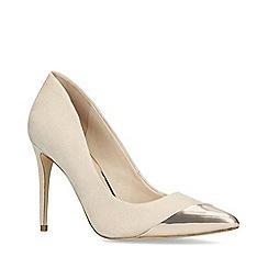ALDO - Nude 'Ysolla' high heel court shoes