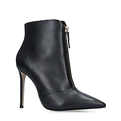 Carvela - Black 'Specious' Leather Ankle Boots