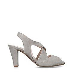 6236946e1da Carvela Comfort - Grey  Annabel  Suede Slingback Heels Court Shoes