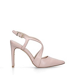 Carvela - Nude 'Kraft' stiletto heeled courts