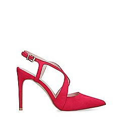 Carvela - Pink 'Kraft' stiletto heeled courts