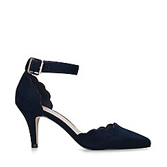 Carvela - Navy 'Klove' Mid Heel Court Shoes